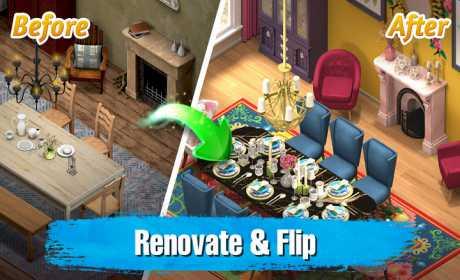 Room Flip™: Design Dream Home