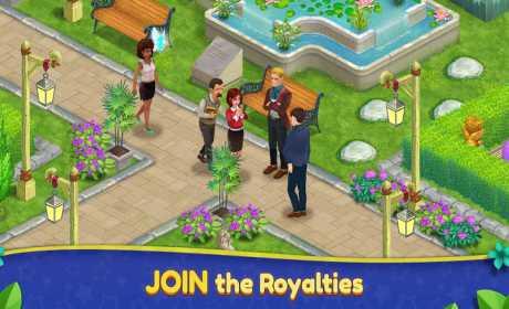 Royal Garden Tales - Match 3 Puzzle Decoration
