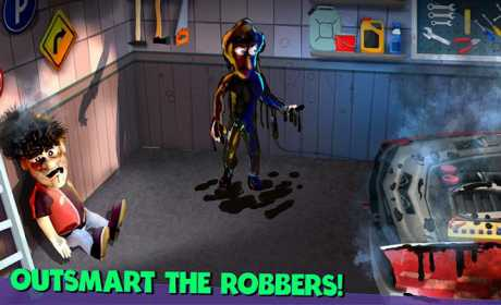 Scary Robber Home Clash