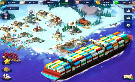 Sea Port: Build Town & Ship Cargo in Strategy Sim