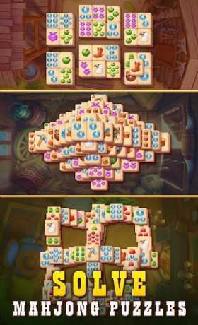 Sheriff of Mahjong: Match tiles & restore a town