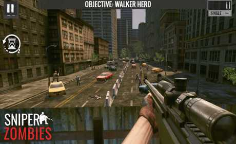 Sniper Zombies: Offline Shooting Games 3D