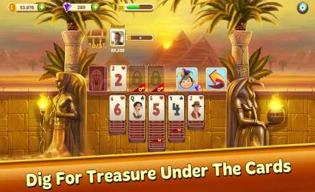Solitaire Treasure Hunt