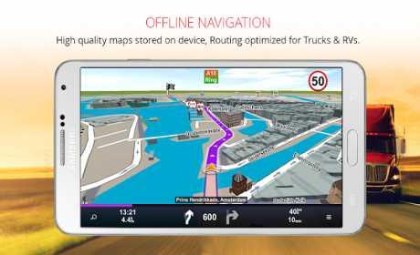 Sygic Professional Navigation