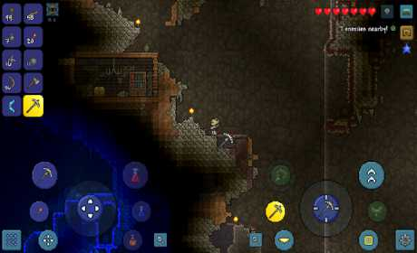 download Terraria apk with mod for android