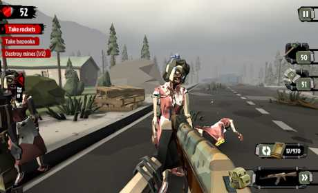 The Walking Zombie 2: Zombie shooter 2 21 Apk + Mod Money android