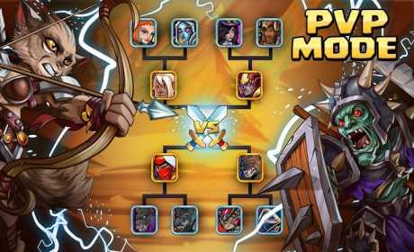 Tiny Gladiators 2: Heroes Duels - RPG Battle Arena