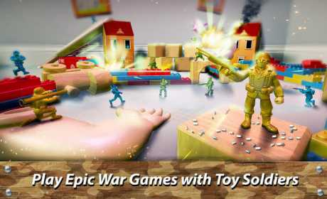 🔫 Toy Commander: Army Men Battles