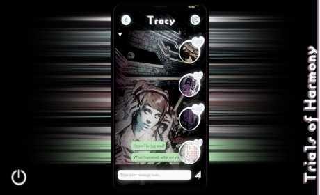 Trials of Harmony ~ A Lost Phone Visual Novel