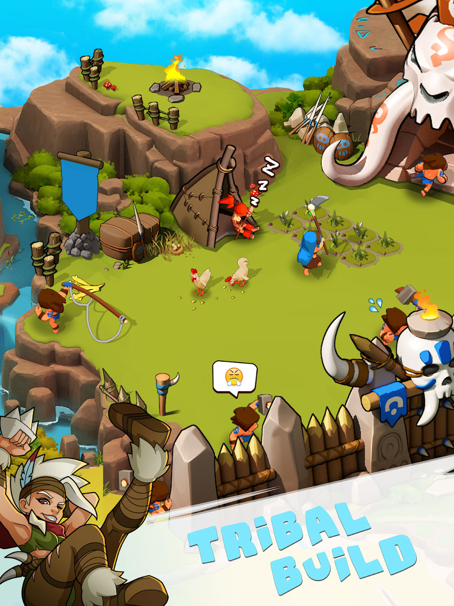 Tribes Age:Rise of Caveman