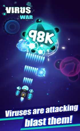 Virus War - Space Shooting Game
