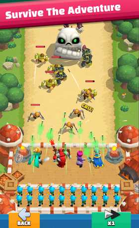 Wild Castle TD: Grow Empire in Tower Defense