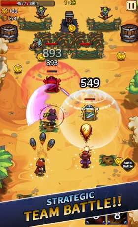 Wonder Knights : Retro Shooter RPG