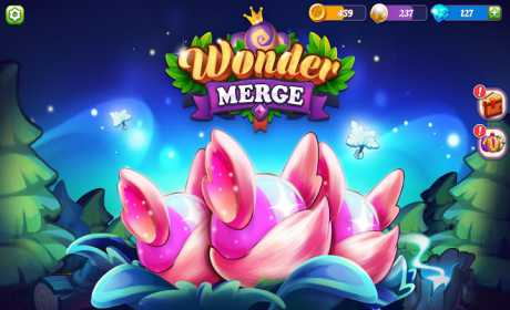 Wonder Merge - Magic Merging and Collecting Games