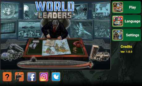 World Leaders Online: Turn-Based Strategy MMO Game