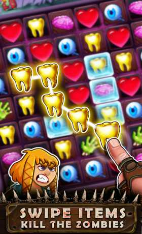 Zombie B The Latest- Match 3 Puzzle RPG Game
