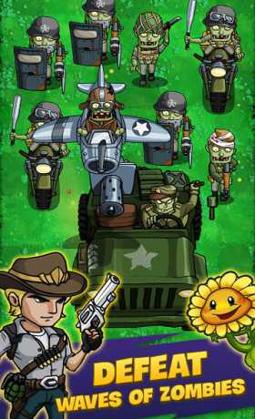 Zombie War: Idle Defense Game